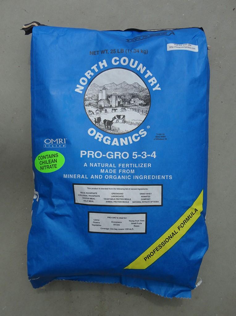 North Country Organics Fertilizer
